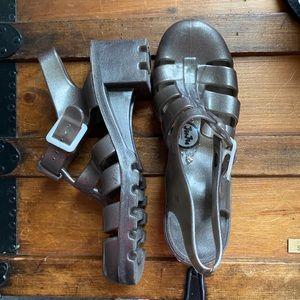 Juju Closed Toe Jelly Sandals
